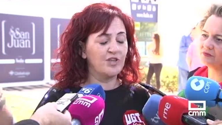 Fallece la trabajadora que cayó este jueves de una escalera en Tobarra