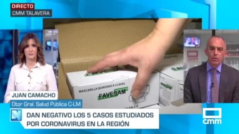 Se estudian siete nuevos casos posibles de coronavirus en Castilla-La Mancha