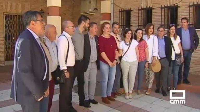 PSOE: Carmen Calvo acompaña a García-Page en Ciudad Real