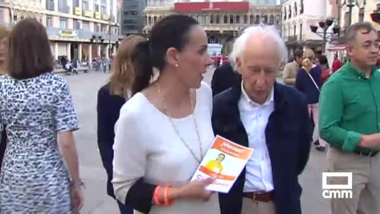 """Albert Boadella, en Ciudad Real: """"Ciudadanos es el único partido que se ha enfrentado al desafío soberanista catalán"""""""
