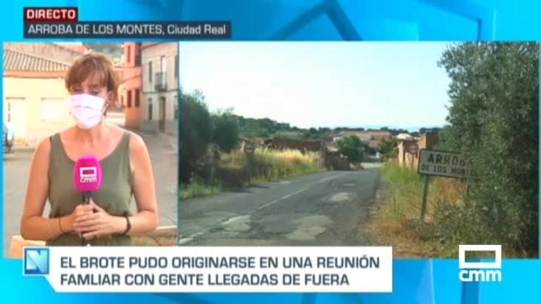 Confirmado un brote de COVID-19, con siete positivos, en Arroba de los Montes (Ciudad Real)