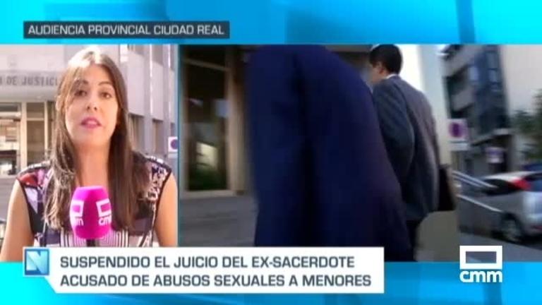Suspendido el jucio contra el excura de Ciudad Real acusado de abusar de nueve niños