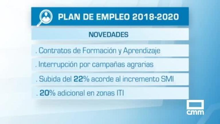 Las 8.000 contrataciones del Plan de Empleo CLM, a partir del 9 de diciembre