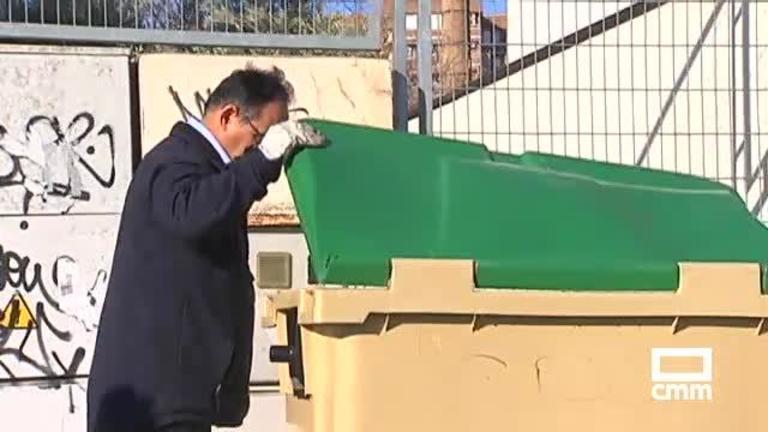 Dos corzos decapitados, encontrados en un contenedor en Talavera de la Reina