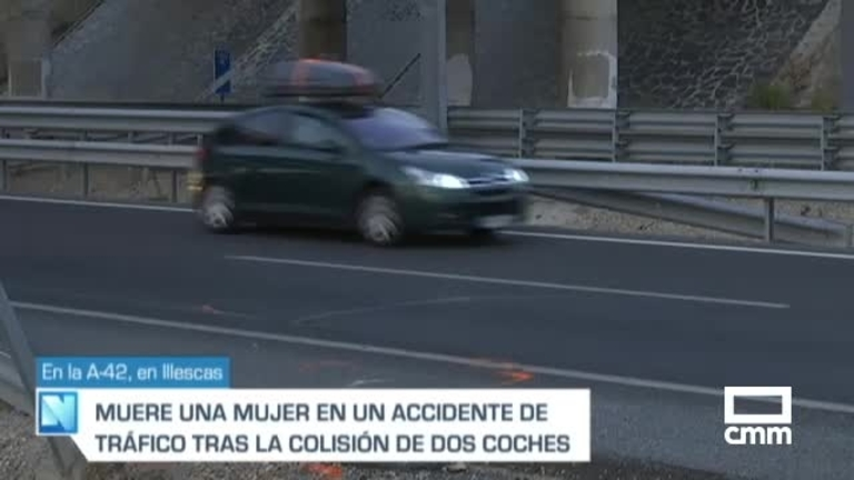 Muere una mujer de 38 años en un accidente de tráfico en Illescas (Toledo)