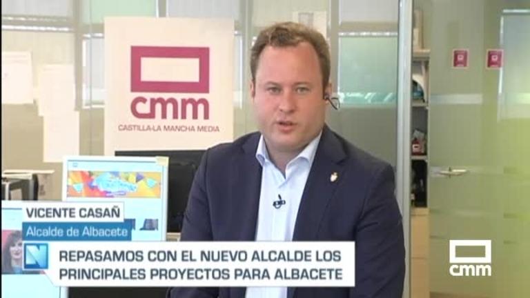 Casañ, alcalde de Albacete, en CMM: El hospital es condición necesaria para mantener el acuerdo con el PSOE