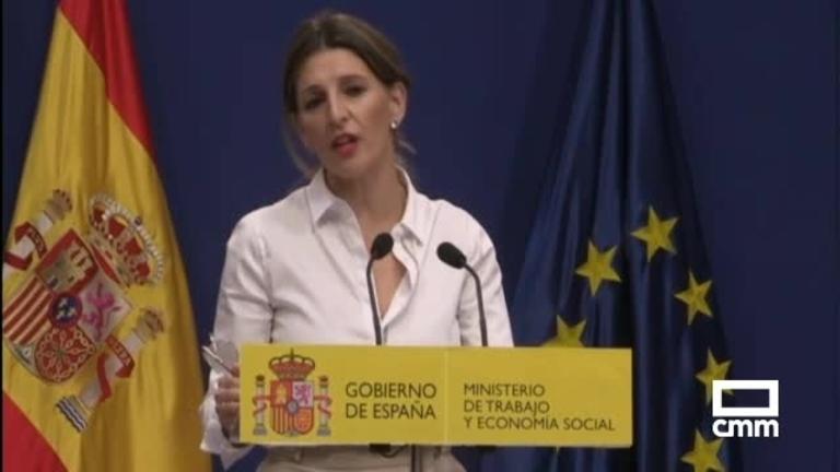 Sube el salario mínimo a 950 euros con el acuerdo de Gobierno y agentes sociales