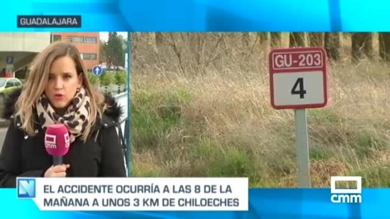 Seis heridos, tres de ellos menores, en un accidente de tráfico en Chiloeches (Guadalajara)