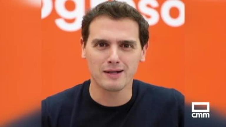 Cs: Rivera en redes sociales; Arrimadas y Roldán, en Cataluña; y Zapata en Toledo