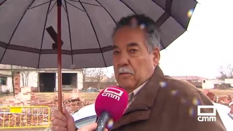 Daños por el viento y el granizo en la provincia de Ciudad Real