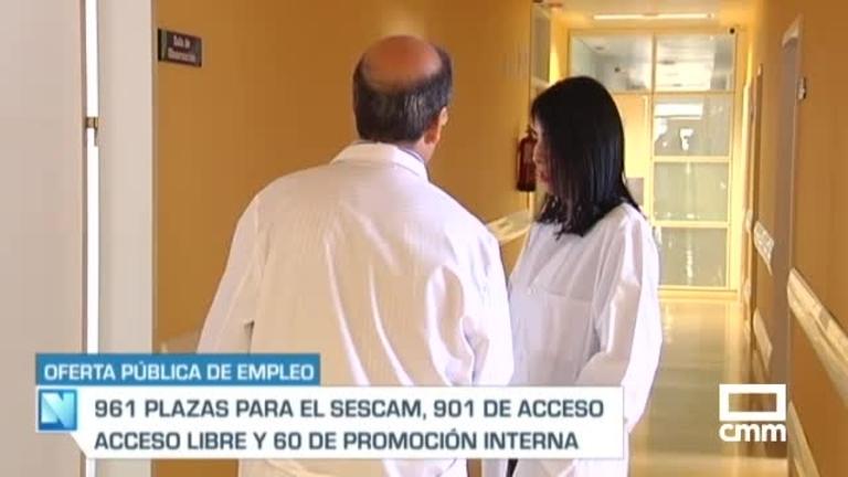 961 plazas en la oferta de empleo público del SESCAM