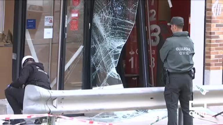 Robo con explosivos: así han reventado un cajero en Cedillo del Condado, Toledo