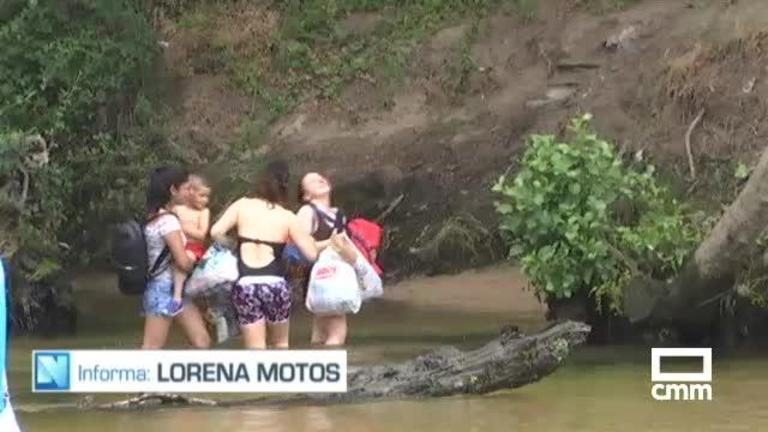 Un niño de 8 años llama al 112 para rescatar a su madre y su hermano en el río Alberche