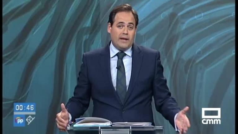 Intervenciones de Paco Núñez (PP) en el debate
