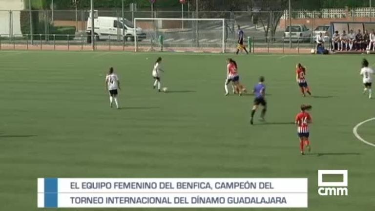 El Benfica, campeón del Torneo Internacional del Dínamo Guadalajara