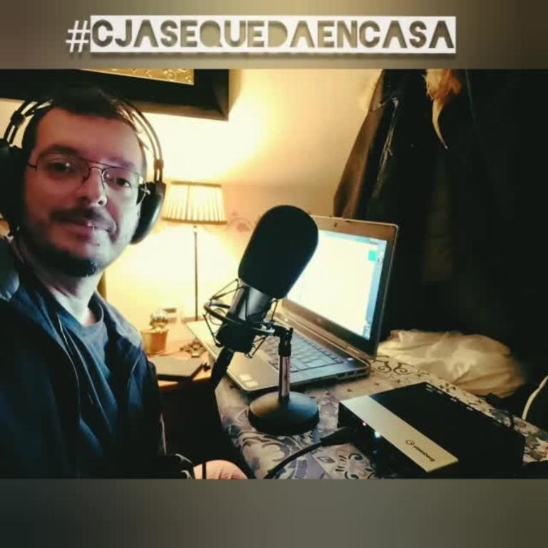 #CJASeQuedaEnCasa - #QuédateEnCasa