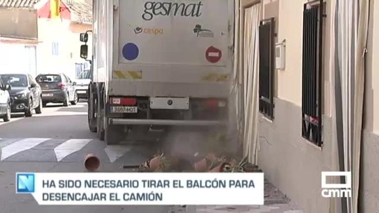 Fallece el conductor de un camión de basuras, que ha chocado con una vivienda
