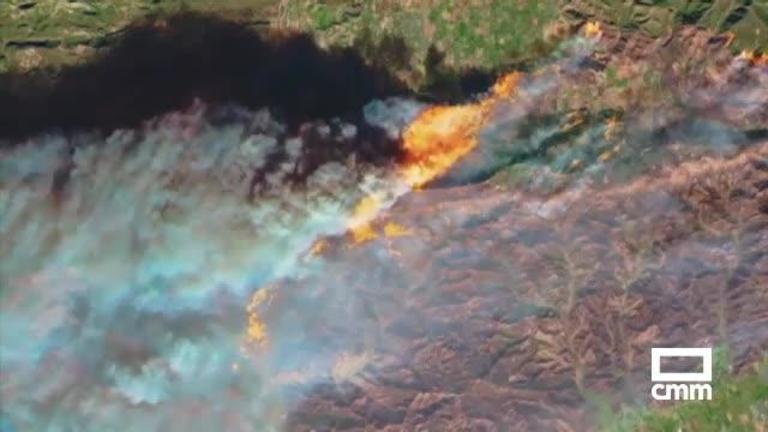 La NASA estudia con aviones y satélites los efectos de los incendios