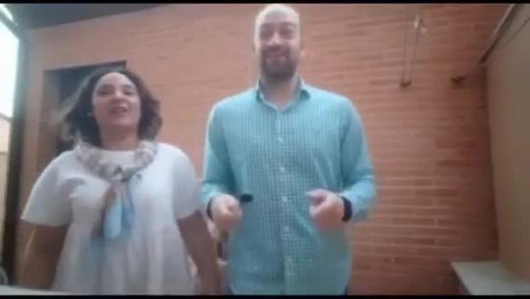 Isabel y Pedro de La Puebla de Almoradiel y Alcázar de San Juan #QuédateEnCasa