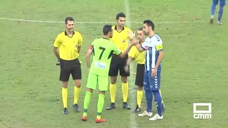 CF Talavera - CD Badajoz (4-0)