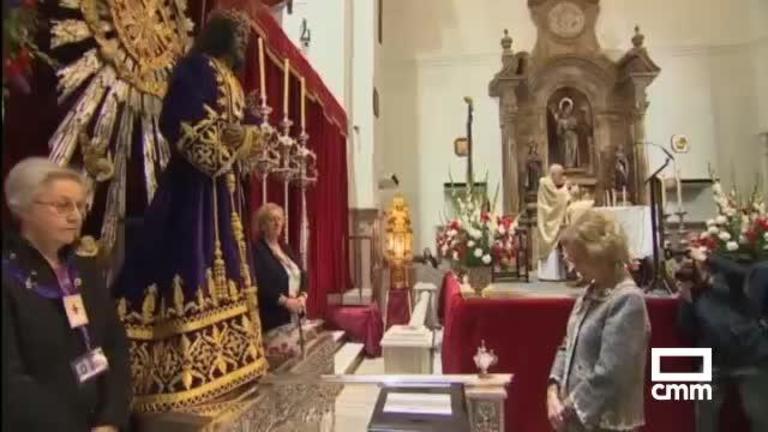Cristo de Medinaceli 2020: sin besos y menos afluencia de devotos
