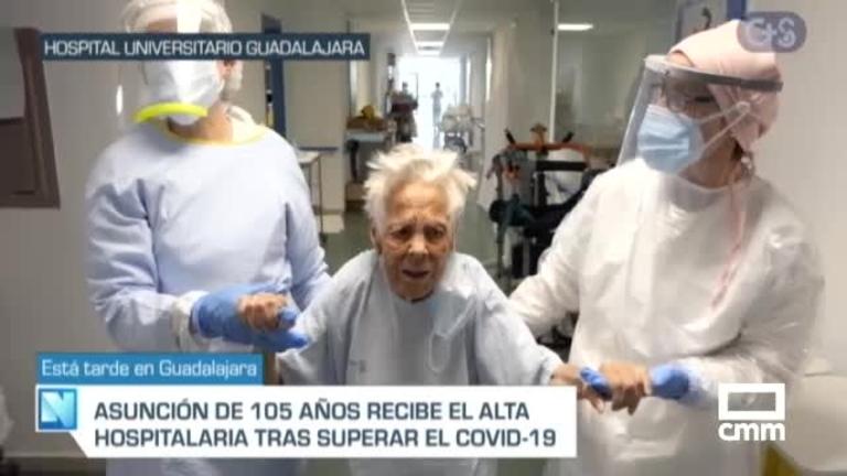 Una mujer de 105 años supera el coronavirus en Guadalajara