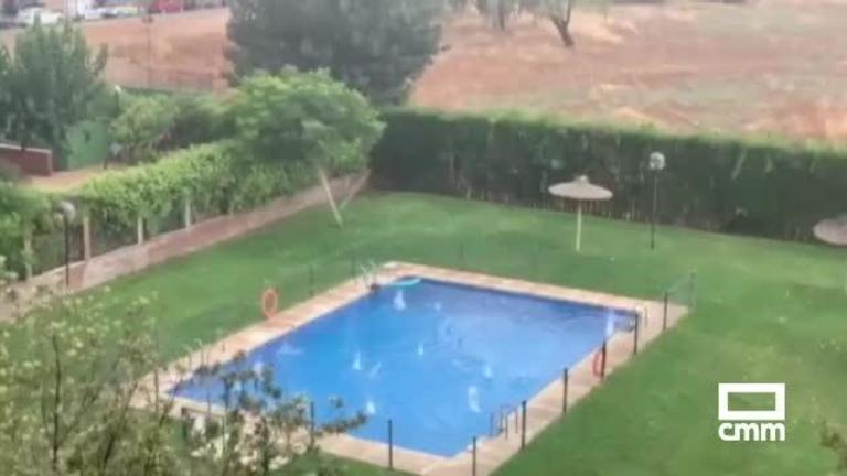 Empresarios de Ciudad Real piden la declaración de zona catastrófica tras la granizada
