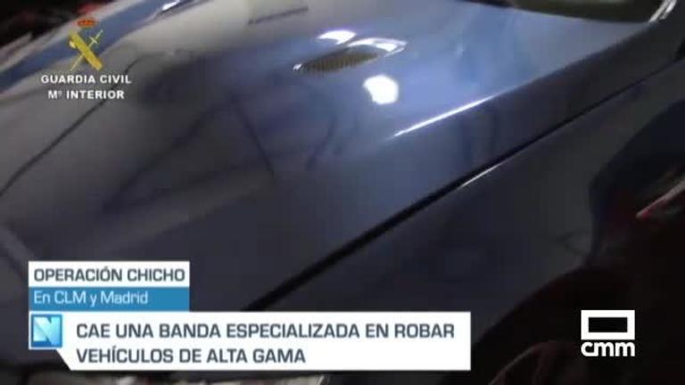 Cae una banda dedicada al robo de coches de alta gama en Castilla-La Mancha y Madrid