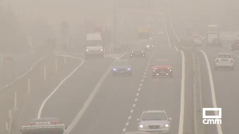 Operación retorno: 600 km de niebla en las carreteras de Castilla-La Mancha