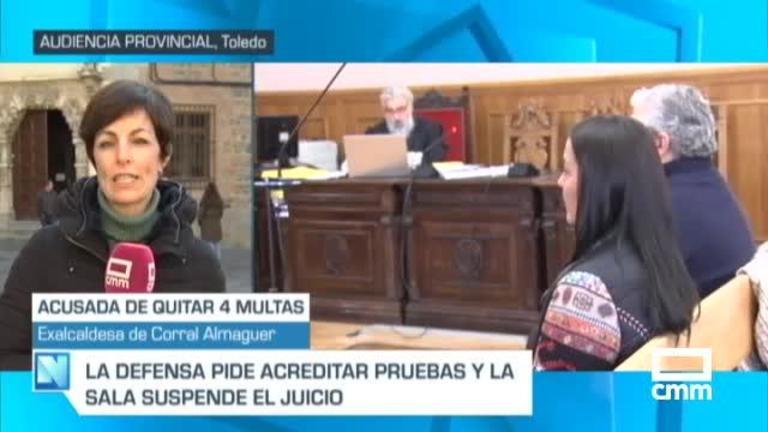 Suspendido el juicio contra la exalcaldesa de Corral de Almaguer por quitar multas de tráfico