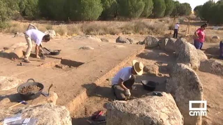 Primeras excavaciones en el crómlech de Totanés (Toledo)