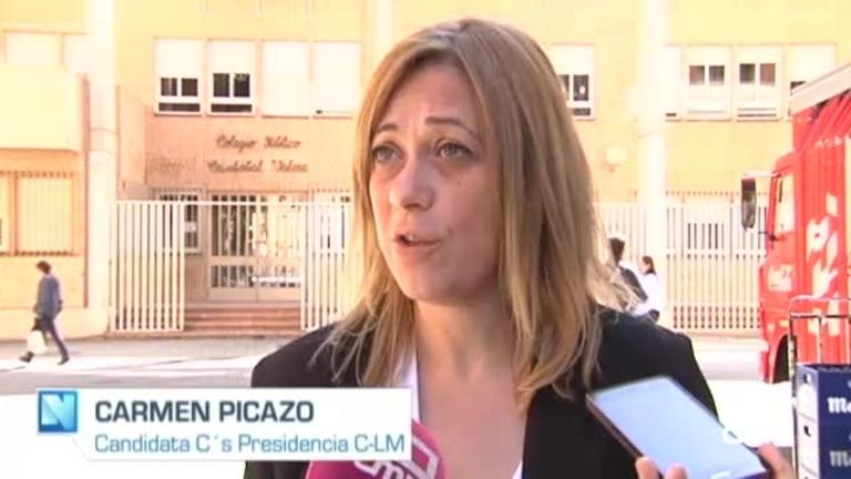 Ciudadanos: la candidata a la Junta, Carmen Picazo, propone universalizar la enseñanza de 0 a 3 años
