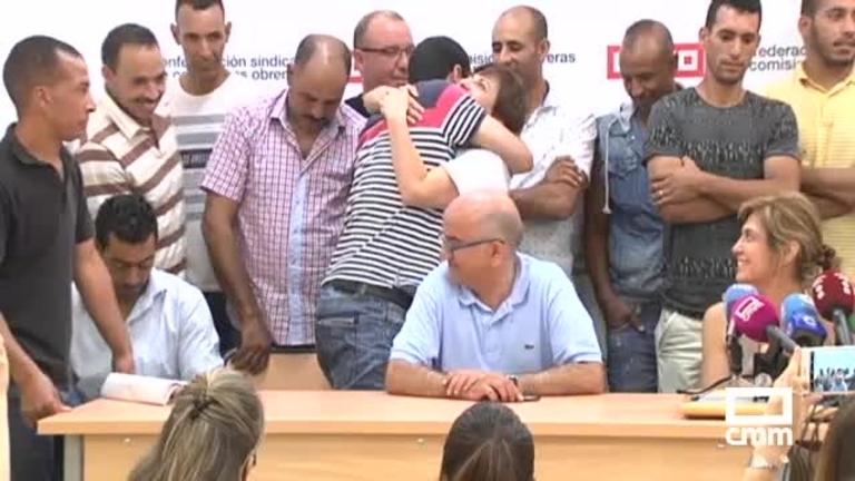 Acuerdo entre el Grupo Lucas y los temporeros que denunciaban su situación laboral