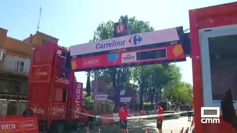 La Vuelta, en Guadalajara: itinerario y repercusión de la etapa alcarreña