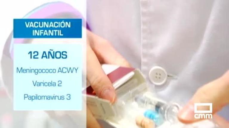 El calendario vacunal en Castilla-La Mancha se actualiza: nueva vacuna a los 12 años frente a la meningitis