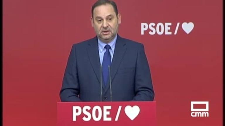 Reacciones a la sentencia de los ERE; desde el PSOE, Ábalos: \\