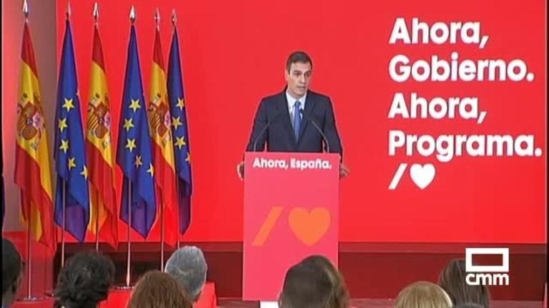 Actualizar pensiones al IPC, subir el SMI:  las claves del programa electoral del PSOE