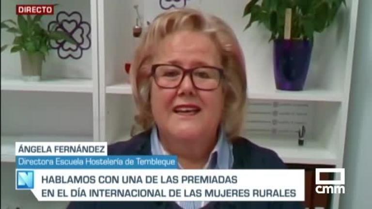 Entrevista a Ángela Fernández