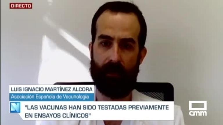 Martínez Alcorta, Asoc. Vacunología, en CMM: