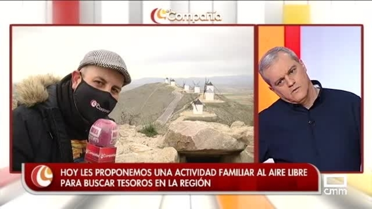Buscamos tesoros en Consuegra con Agustín Durán