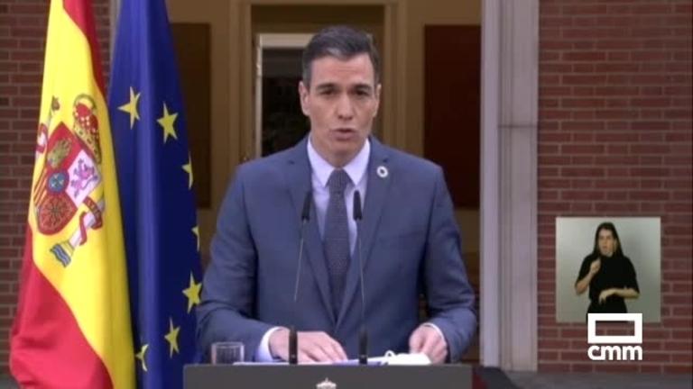 Pedro Sánchez muestra su rechazo a