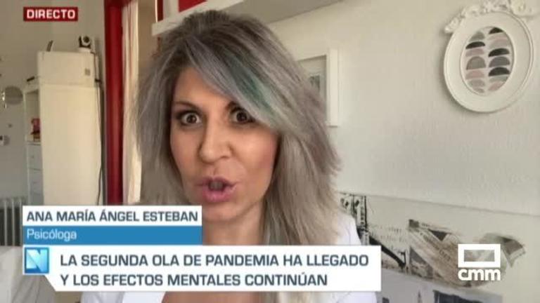 Entrevista a Ana María Angel Esteban, psicóloga