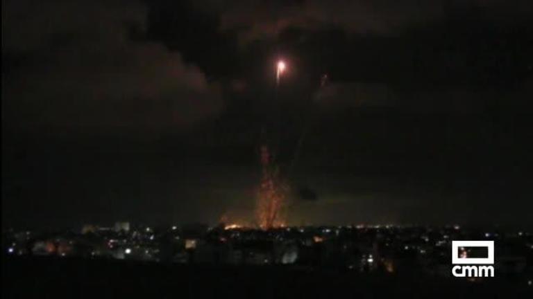 Masiva ofensiva sobre Gaza: 50 rondas de bombardeos israelíes en 40 minutos