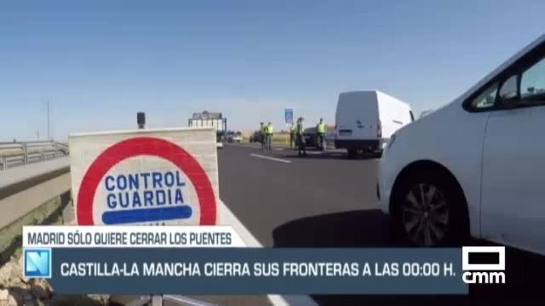 Desde esta medianoche, Castilla-La Mancha confinada perimetralmente, y otras noticias del día