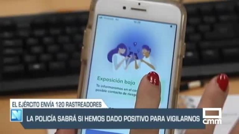 Las fuerzas de seguridad tendrán los nombres de los positivos, y otras noticias de Castilla-La Mancha