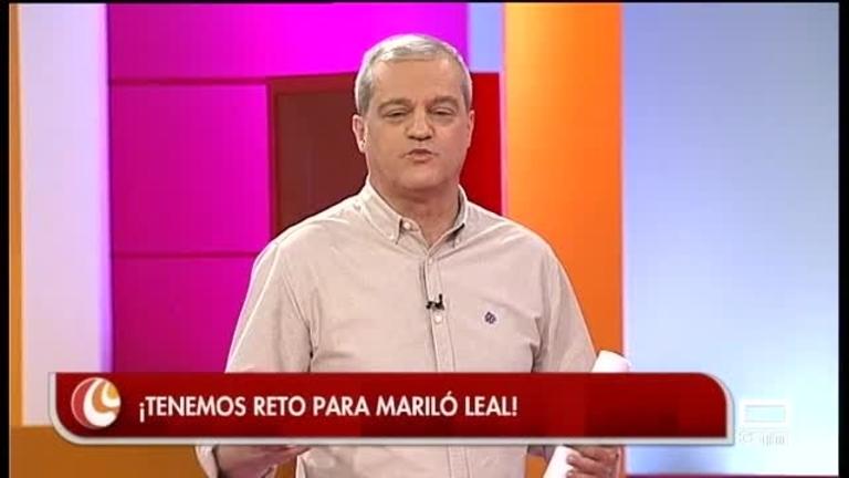 Reto de los pistachos para Agustín Durán y Mariló Leal