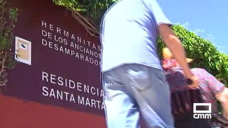 La quinta ola deja 584 contagios y 62 fallecidos en residencias de Castilla-La Mancha