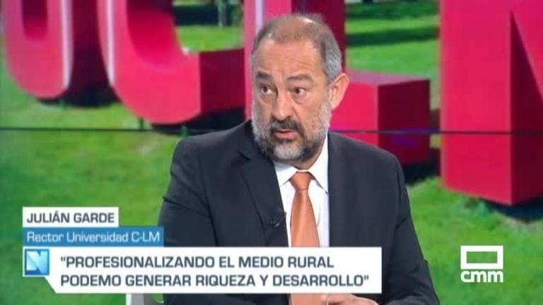 El rector de la UCLM, Julián Garde, en CMM: