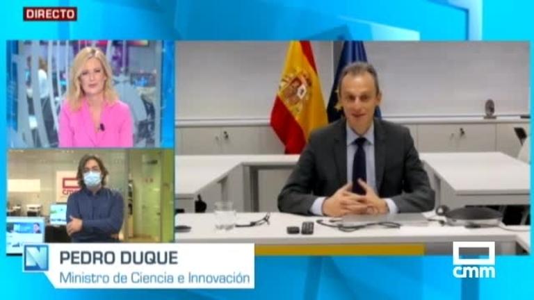 El ministro Pedro Duque, en CMM: \\