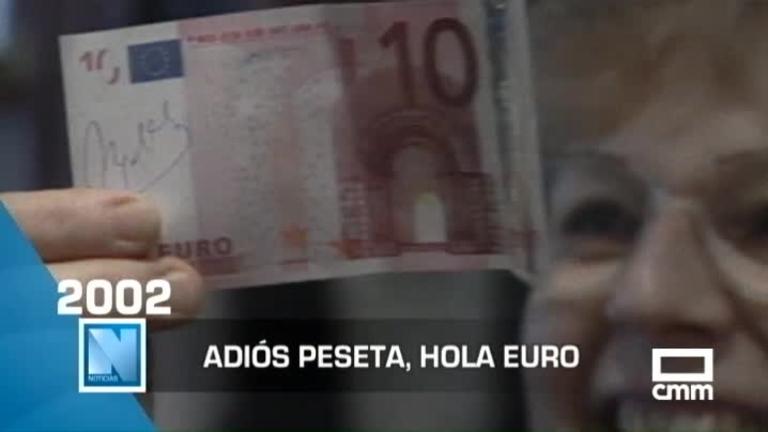 Hola Euro, adiós peseta